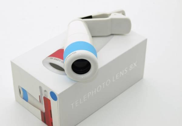 8 fach Telelinse - Zoomobjektiv für Smartphones