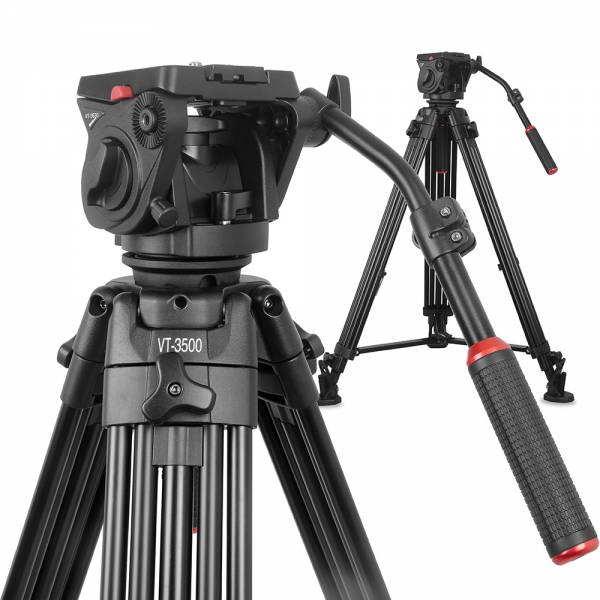 Kingjoy Videostativ-Kit VT-35 bestehend aus VT3500+VT3530 Kit