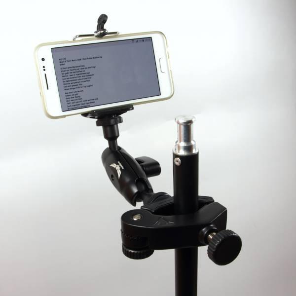 Parrot Clamp mit Smartphone Clip und GoPro Adapter