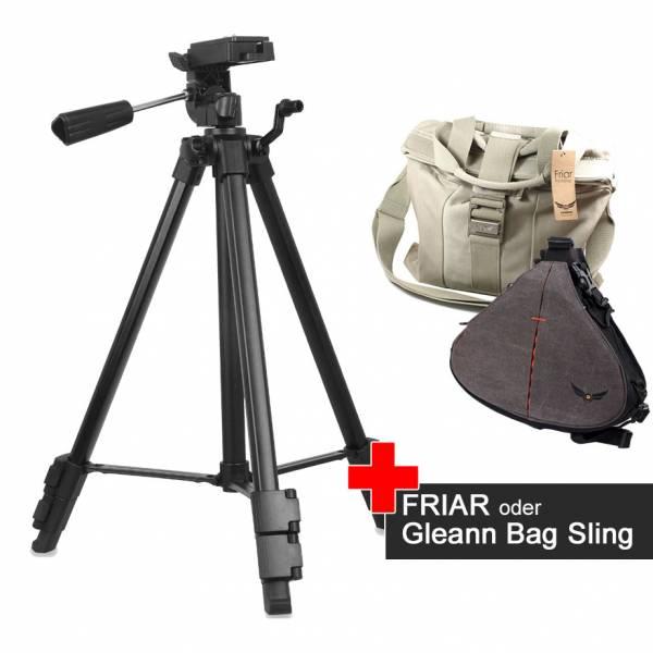 VT-910 Video-Sativ mit Firmcam Foto-Tasche im Spar-Set